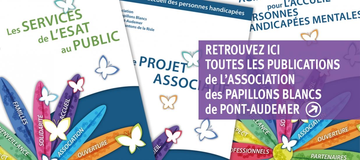 Les publications des papillons blancs de Pont-Audemer