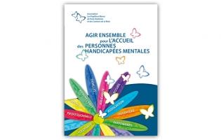 Plaquette de l'association des Papillons Blancs de Pont-Audemer